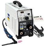 Аргонодуговой инвертор (MMA/TIG) GYS TIG 200 DC HF FV, ACC. SR17DB-4M