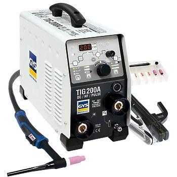 GYS TIG 200 DC HF FV, ACC. SR17DB-4M