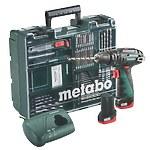 Дрель-шуруповерт Metabo PowerMaxx SB Basic Set